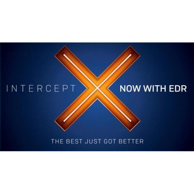 Sophos Intercept X advanced with EDR